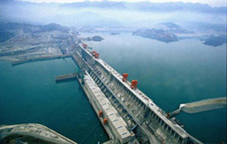 The three gorges dam, China
